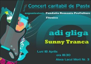 Concert caritabil cu Adi Gliga si Sunny Tranca