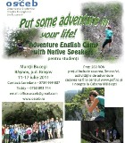 Adventure English Camp 2011 (with Native Speakers)