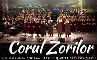 Corul Zorilor in concert la Bucuresti