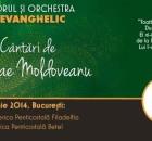 """Corul si orchestra """"Evanghelic"""" la Bucuresti"""
